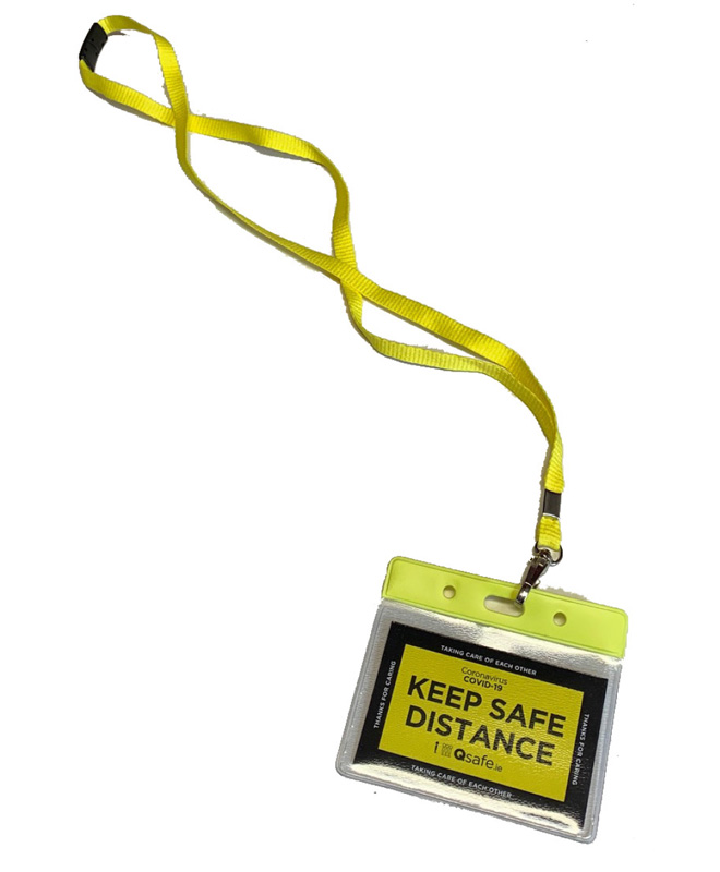 Qsafe Badge Lanyard