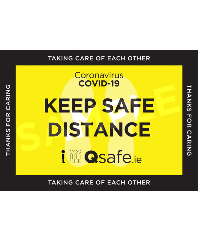 Qsafe Floor Marker 2 Sample
