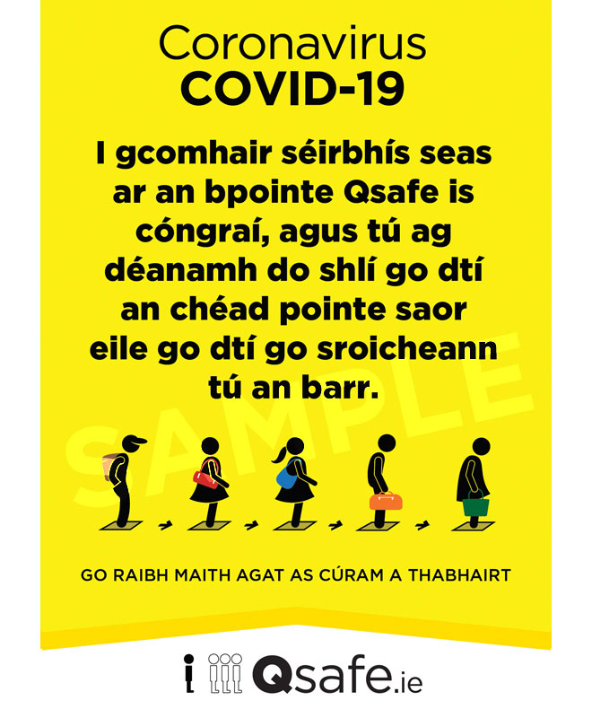 Qsafe Poster Irish Sample