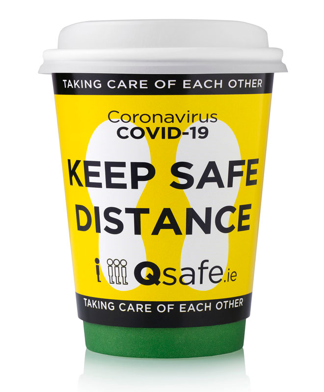 Qsafe Coffee Cup
