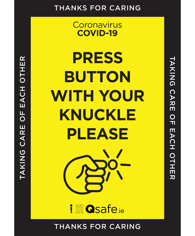 Qsafe Lift Knuckle Poster